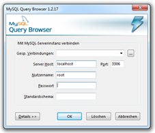 MySQL-Query-Browser