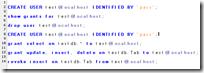 MYSQL-Zugriffsrechte