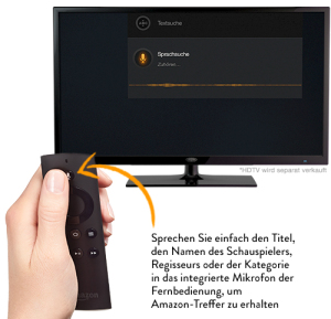 Amazon Fire TV Sprachsteuerung