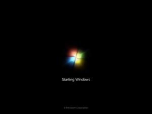 Windows 7 Startbildschirm