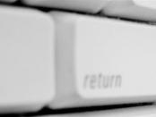 Tastatur mit Hacker-Symbol