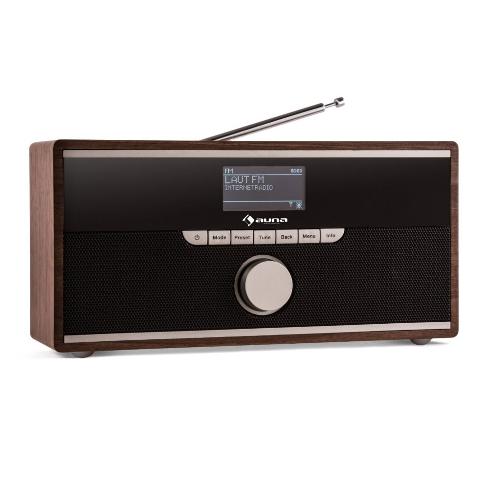radio im retro look das auna weimar dab radio im test servervoice. Black Bedroom Furniture Sets. Home Design Ideas