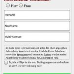 Avast iPhone Scam Dateneingabe