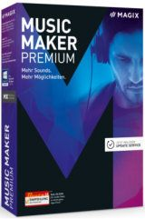 Magix Music Maker Premium Packshot