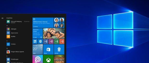 Windows 10 Benutzeroberfläche