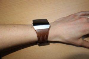 Fitbit Ionic Armband Leder