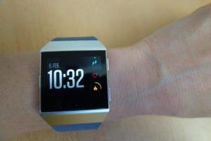 Fitbit ionic Homescreen