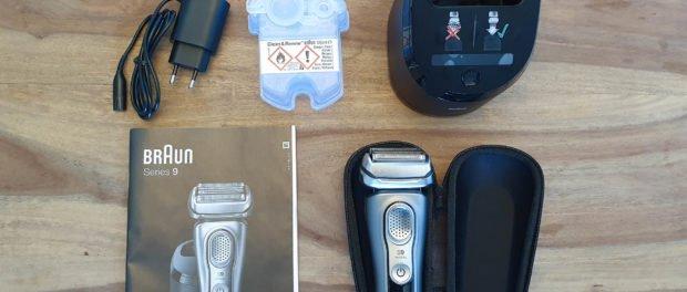 Braun Series 9 9385cc und Zubehör