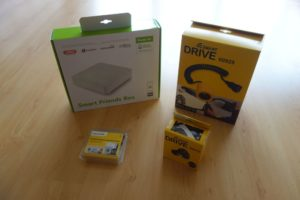 Schellenberg Smart Drive L und Smart Friends Box